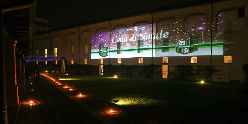 MASTER GROUP SPORT AL FIANCO DEL SASSUOLO PER LA CENA DI NATALE CON GLI SPONSOR