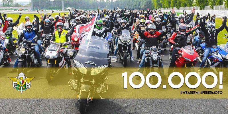 LA PAGINA FACEBOOK DELLA FEDERAZIONE MOTOCICLISTICA ITALIANA RAGGIUNGE...