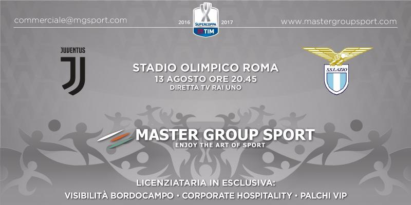 SUPERCOPPA TIM 2017: MGS ACQUIRES THE PUBLICITY AND CORPORATE HOSPITALITY RIGHTS