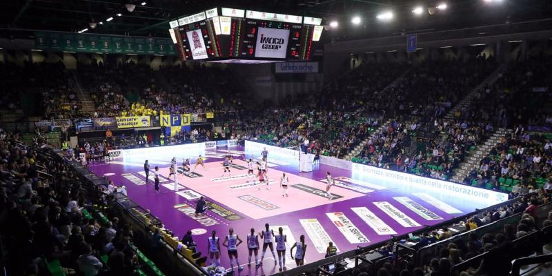 MASTER GROUP SPORT E LEGA VOLLEY FEMMINILE A TREVISO PER LA SUPERCOPPA...