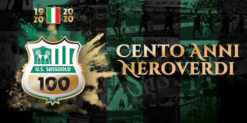 A CENTURY OF SASSUOLO CALCIO. SEVERAL ACTIVITIES TO CELEBRATE THE CLUB...