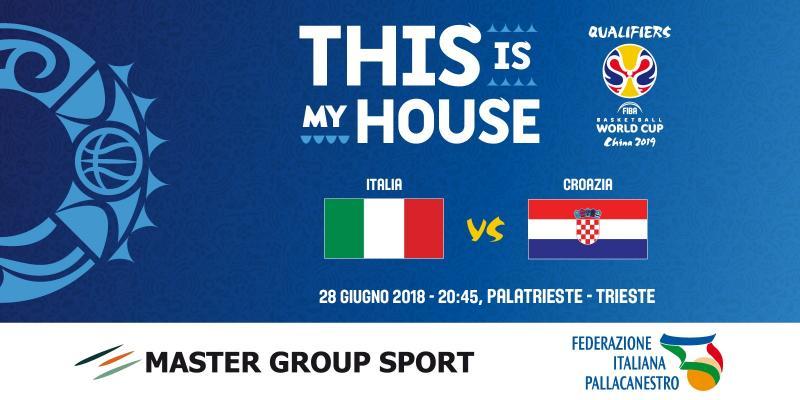 FIBA WORLD CUP: TICKETS FOR ITALY-CROATIA ARE AVAILABLE