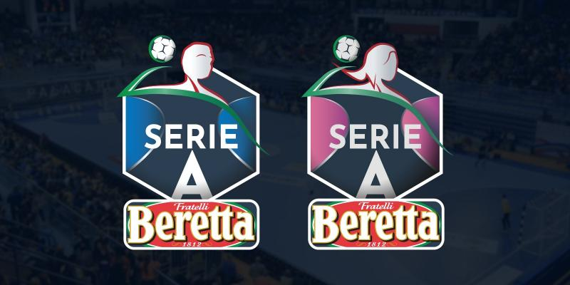 FIGH AND MASTER GROUP SPORT PRESENT SERIE A BERETTA. NEW SPONSOR AND NEW LOGO
