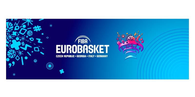 EUROBASKET 2021: UNVEILED THE LOGO. FIP AND MASTER GROUP SPORT WILL ORGANIZE...
