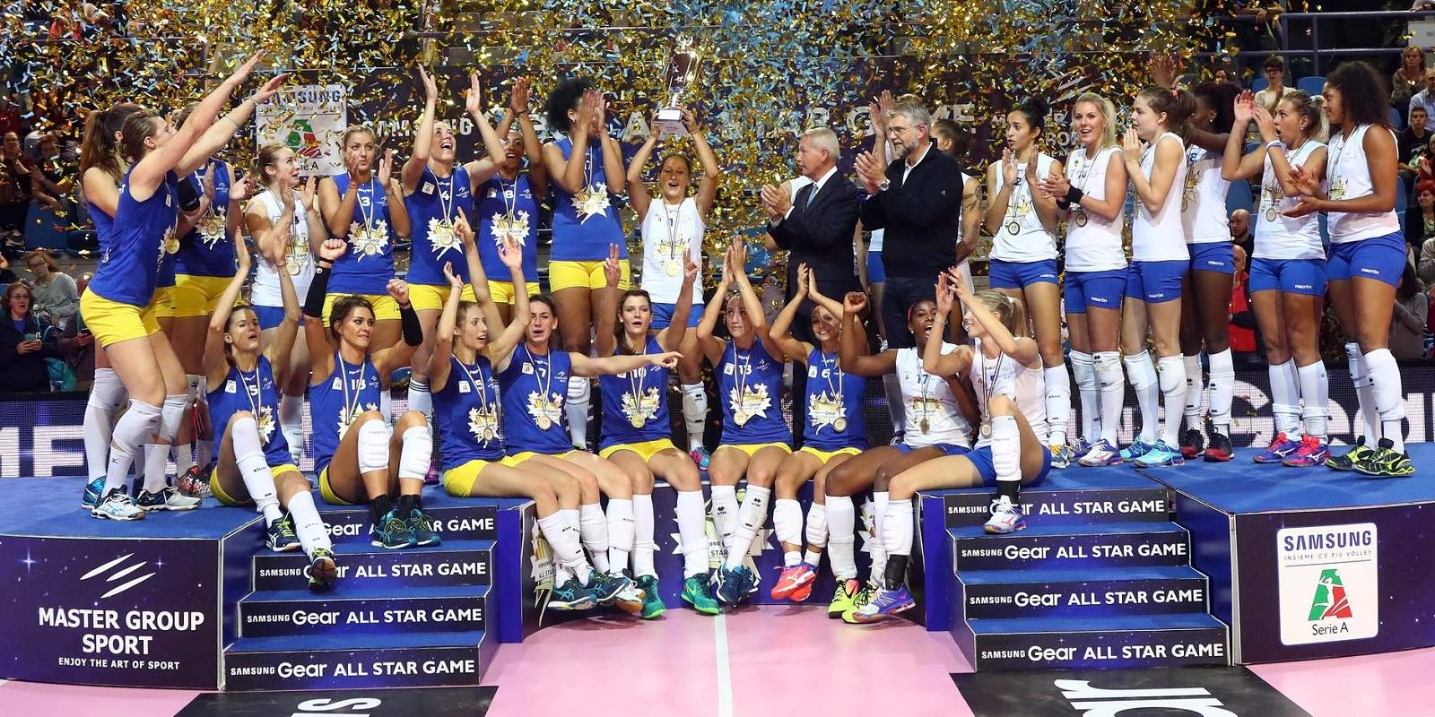 """FEMALE VOLLEYBALL """"SERIE A"""" LEAGUE"""