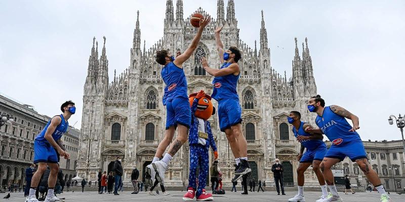 EUROBASKET 2022: A MILANO IL GIRONE C CON ITALIA, GRECIA, CROAZIA, UCRAINA,...