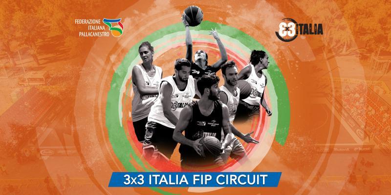 3x3 ITALIA FIP CIRCUIT - NASCE IL NUOVO CIRCUITO DI TORNEI FEDERALI