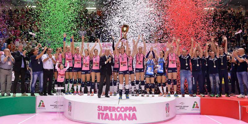 20^ SUPERCOPPA ITALIANA: POMI' SUL TETTO D'ITALIA, NOVARA ANCORA BEFFATA