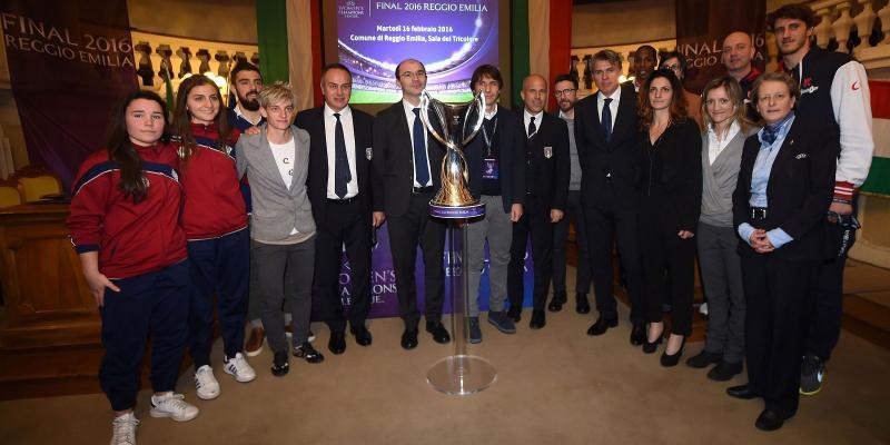 MASTER GROUP SPORT CON FIGC E UEFA PER LA PRESENTAZIONE DELLA UWCL FINAL 2016