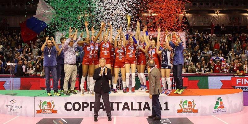COPPA ITALIA A RAVENNA: MASTER GROUP SPORT E LEGA VOLLEY FEMMINILE...