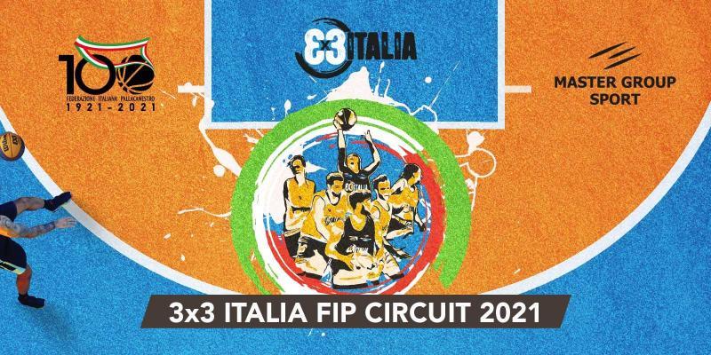 """L'ESTATE 2021 RIPARTE CON IL """"3x3 ITALIA FIP CIRCUIT"""""""