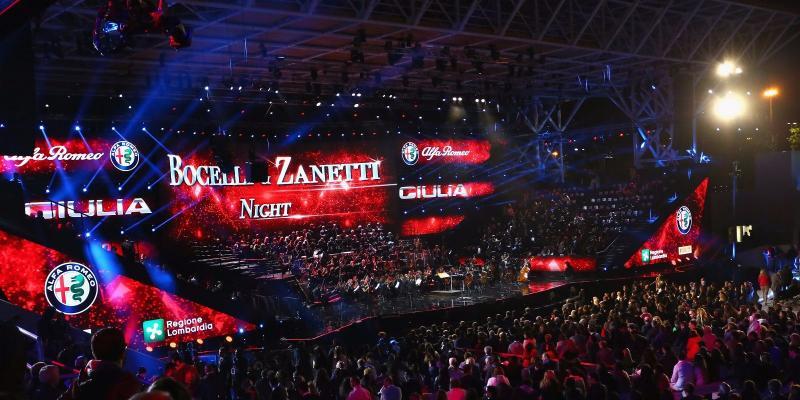 BOCELLI & ZANETTI NIGHT: MGS E STAR BIZ PORTANO SPORT E MUSICA SUL PALCO DI...