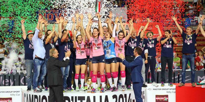 MASTER GROUP SPORT VOLLEY CUP: POMì CASALMAGGIORE E' LA SQUADRA CAMPIONE...