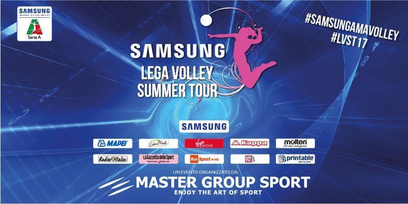 RITORNA LO SPETTACOLO DEL SAMSUNG LEGA VOLLEY SUMMER TOUR, DALL'8 LUGLIO...