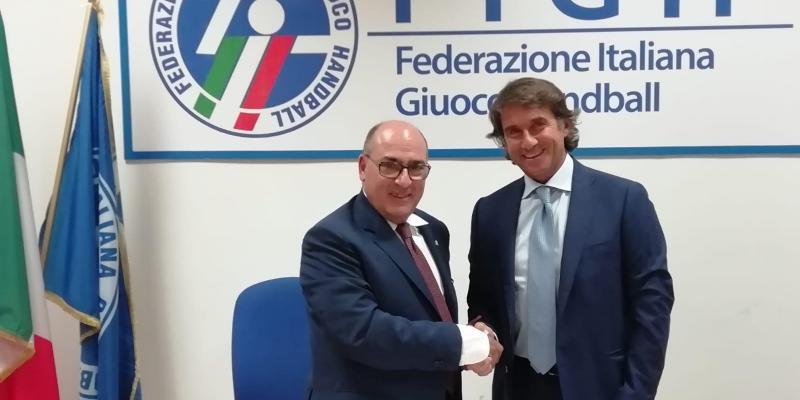SIGLATO L'ACCORDO DI PARTNERSHIP TRA MASTER GROUP SPORT E FIGH
