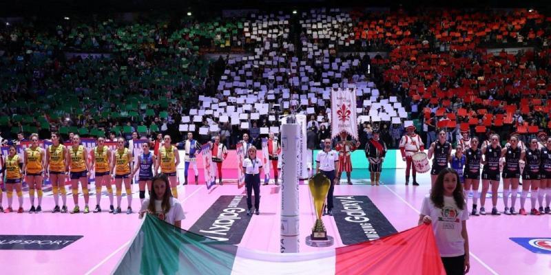 FINALI SAMSUNG GALAXY A COPPA ITALIA AL PALADOZZA DI BOLOGNA IL 17 E 18 FEBBRAIO