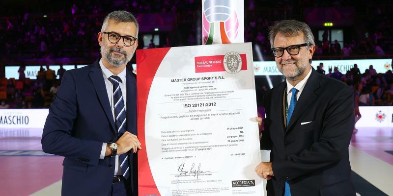 A MASTER GROUP SPORT IL CERTIFICATO ISO 20121:2012 PER LA GESTIONE SOSTENIBILE DEGLI EVENTI